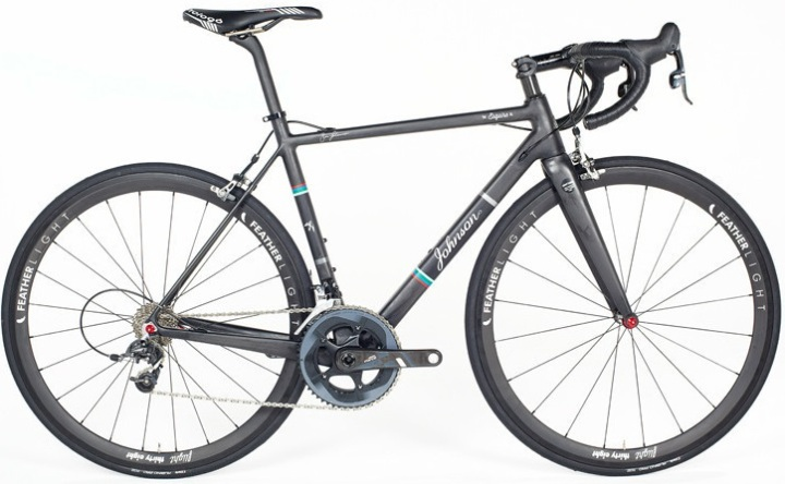 2015 Johnson Esquire SL Sram Force black light blue