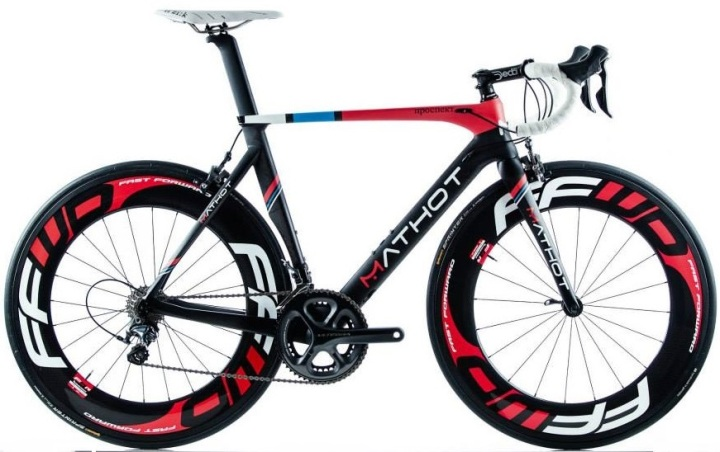 2015 Mathot Prospekt 2 ultegra red black white blue