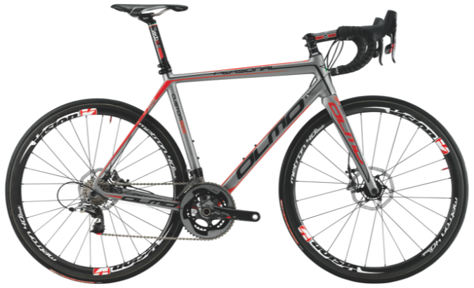 2015 Olmo Personal grey red sram disc
