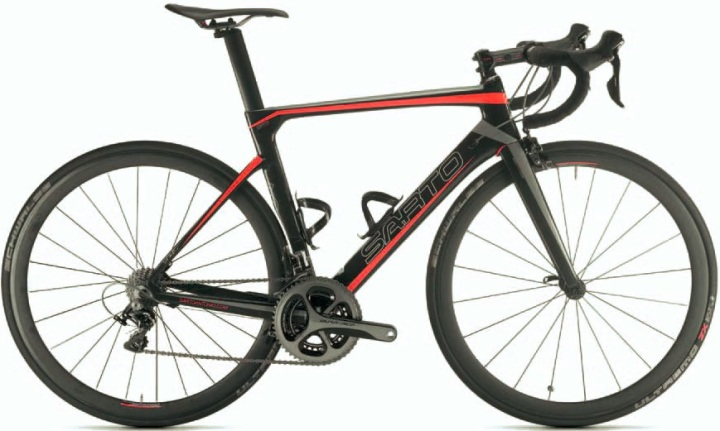 Sarto Lampo 2015- dura ace red black