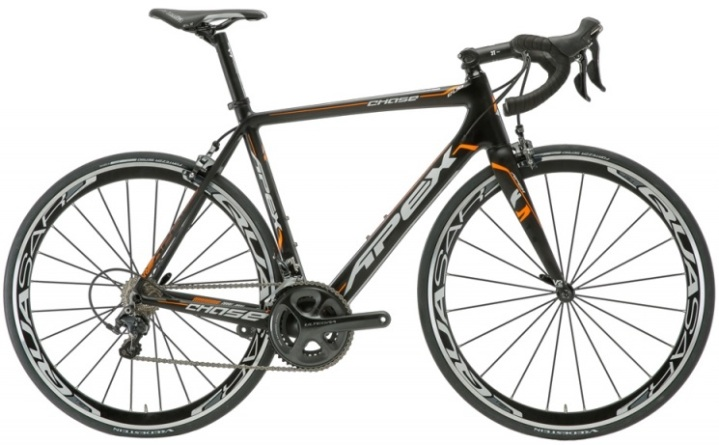 2015 Apex Chase ultegra black orange