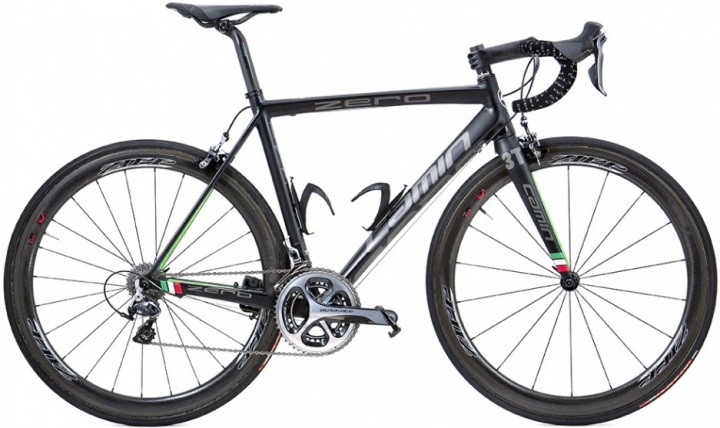 2015 Camin Zero dura ace grey blue lime italia