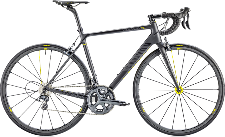 2015 Canyon Ultimate CF Mavic edition ultegra black yellow