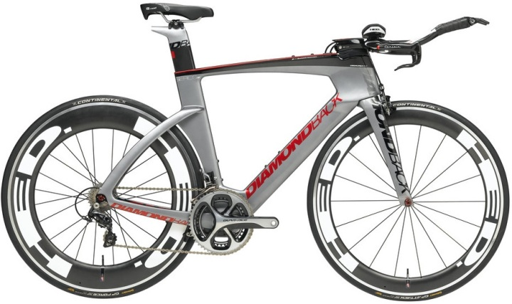 2015 Diamondback Serios AF tt grey red silver dura ace