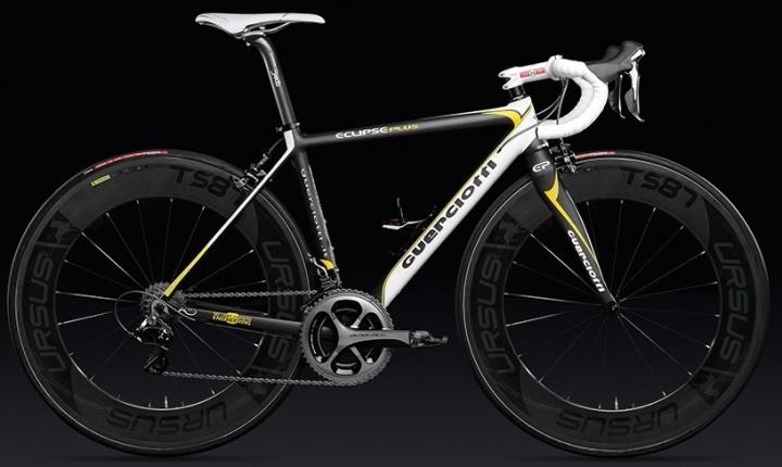 2015 Guerciotti Eclipse Plus black yellow dura ace