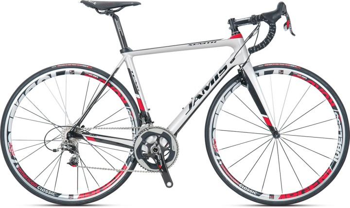 2015 Jamis Xenith Team white red sram
