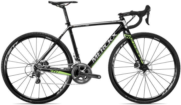 2015 Merckx Eeklo70 disc ultegra green