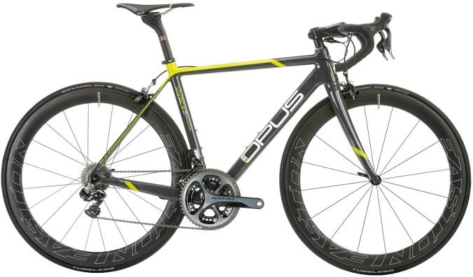 2015 Opus Vivace 1.0 black yellow dura ace