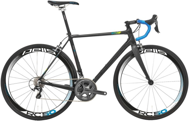 2015 Pells Roar ultegra black blue