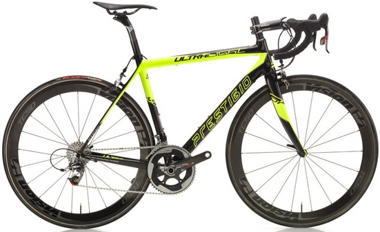 2015 Prestigio Ultralight lime sram red