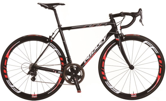 2015 Ridley Helium red black campy