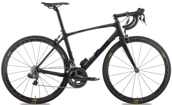 Cinelli Saetta Radical ultegra black 2014