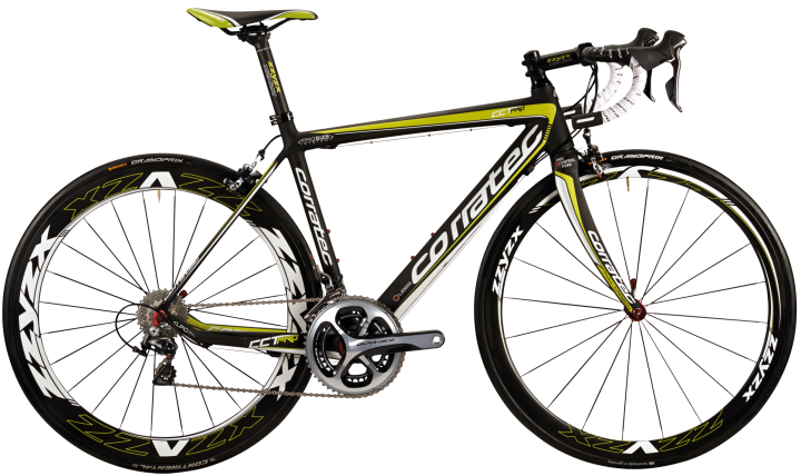 Corratec cct_pro_dura_ace_green yellow 2015
