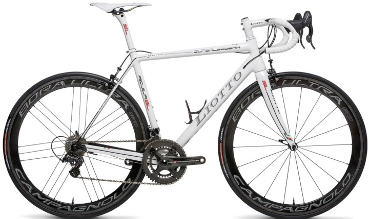Liotto Aquila superleggera white campy 2015