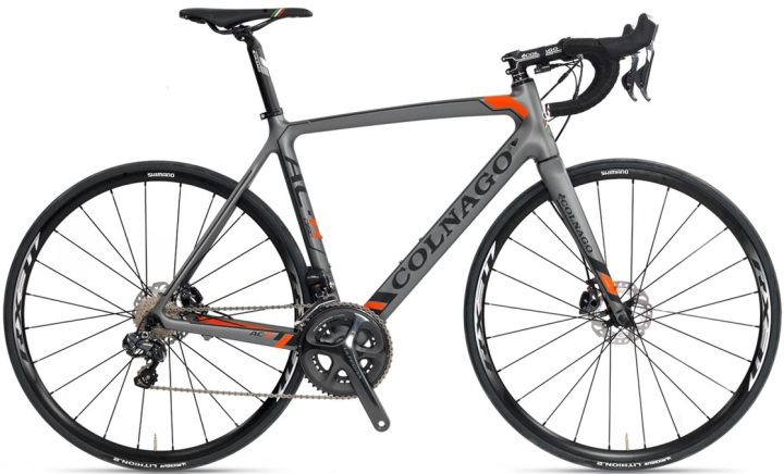 2015 Colnago AC-R Disc ultegra grey orange