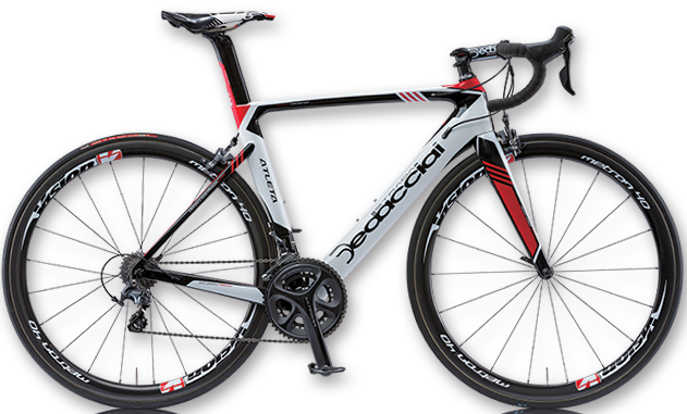 2015 Dedacciai Atleta red black white ultegra