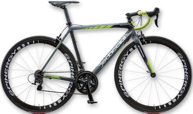 2015 Dedacciai Nerissimo grey lime yellow shimano 105