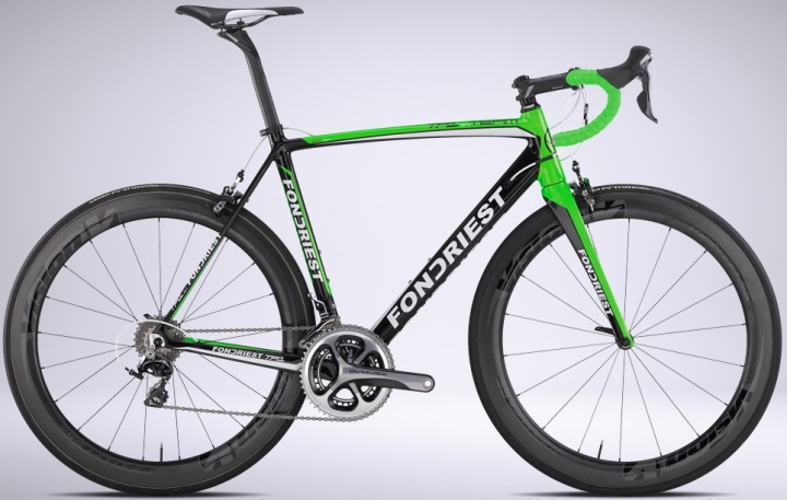 2015 Fondriest TF1 1.4 green dura ace
