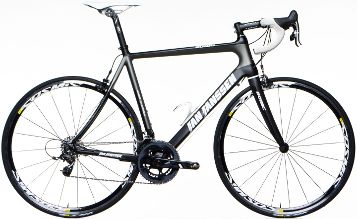 2015 Jan Janssen Sonic sram force black grey
