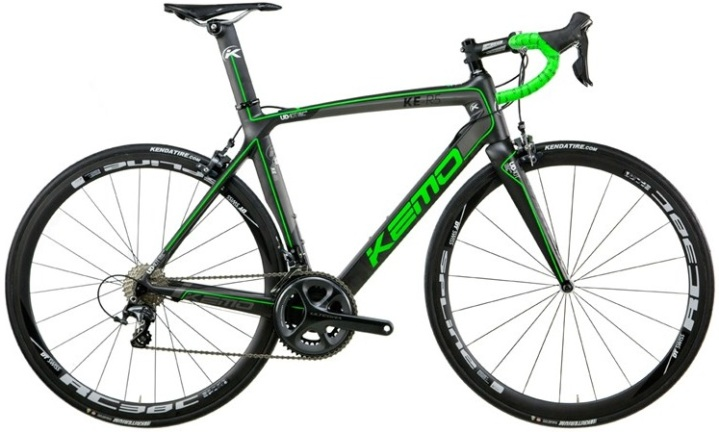 2015 Kemo KE R5 ultegra black lime green di2