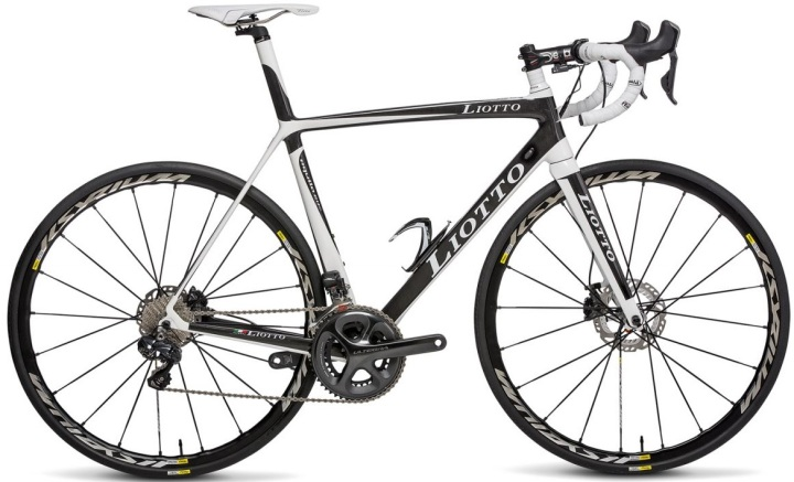 2015 Liotto aquila ultegra white black disc