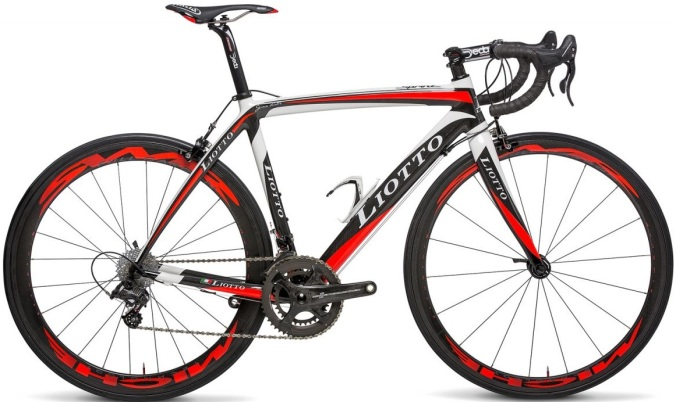 2015 Liotto Sprint red white campy