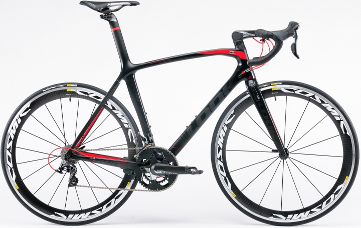 2015 Look -695-aerolight dura ace black red