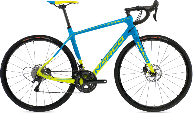 2015 Norco Search yellow light blue disc ultegra