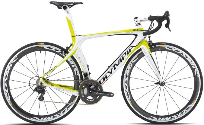 2015 Olympia Boost campy record yellow