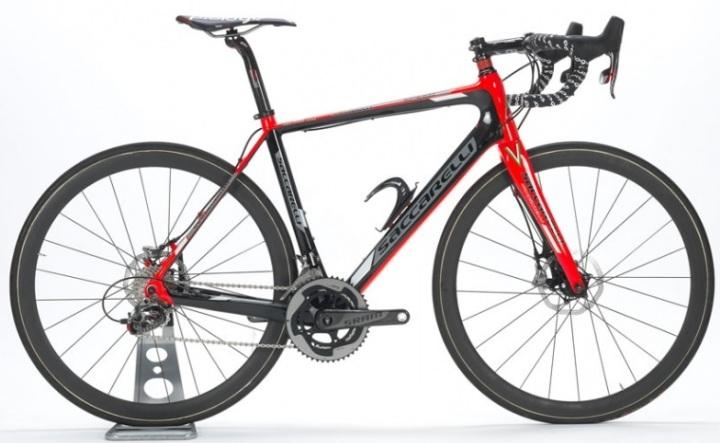 2015 Saccarelli Speed disc sram red white black