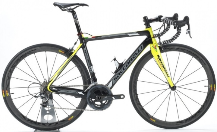 2015 Saccarelli Team yellow sram force