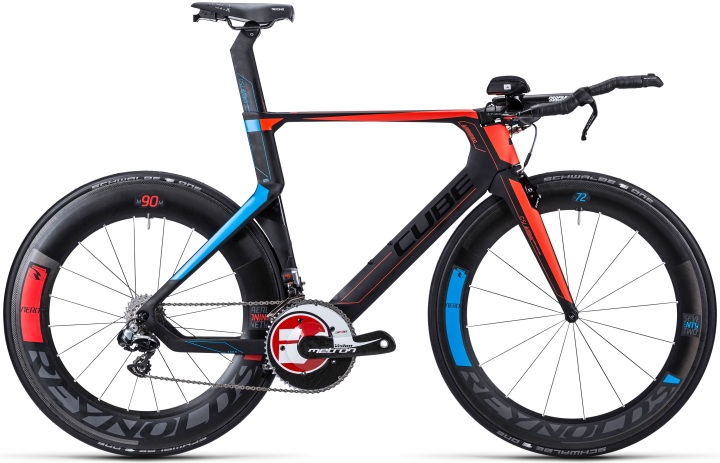Cube Aerium super hpc slt tt 2015 red light blue black