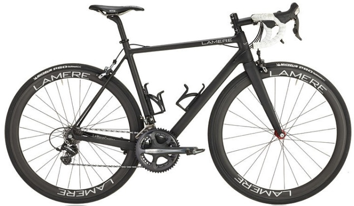 2015 LaMere carbon road bike dura ace black