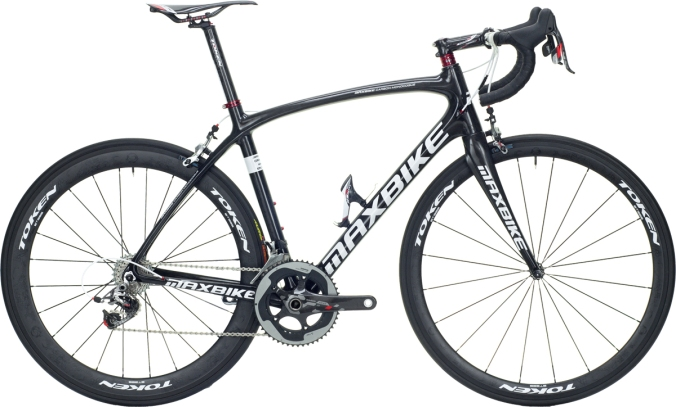 2015 Maxbike Stelvio black sram red