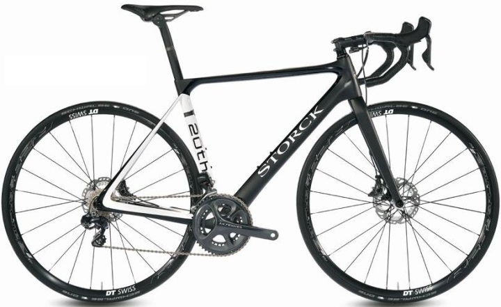 2015 Storck Aernerio disc black white 20th anni ultegra