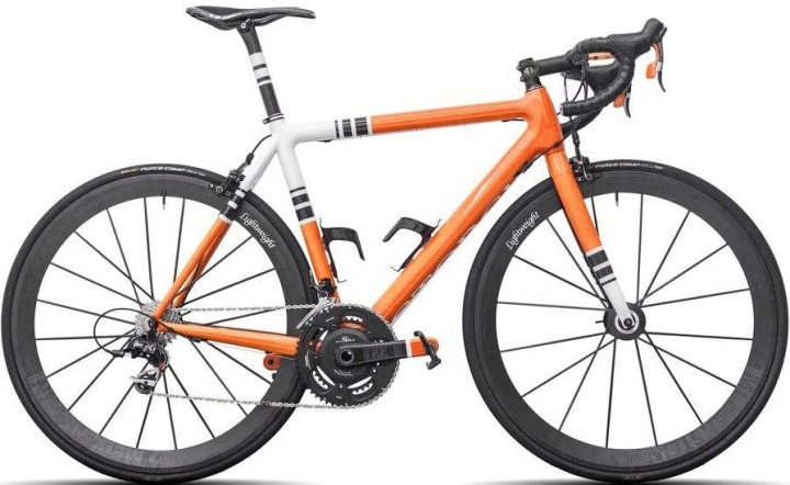 2015 Storck Fascenario orange sram red