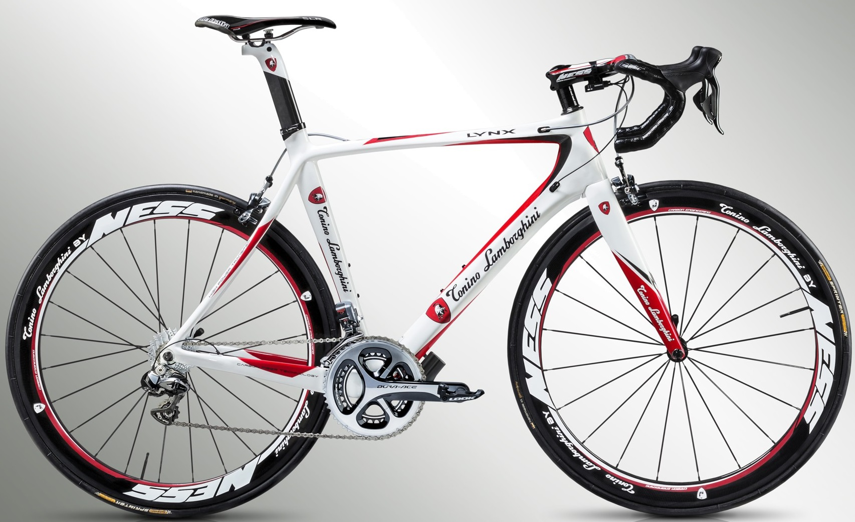 Amazing 2015 Tonino Lamborghini Lynx Dura Ace Di2 Red White ...