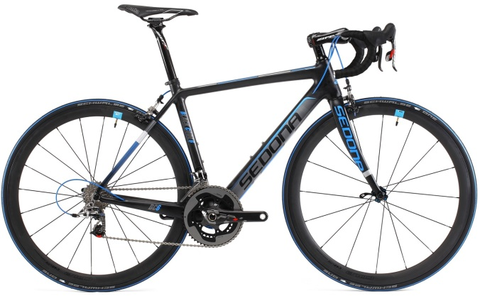 Sedona Black Code 6 Sram red 2015 light blue black