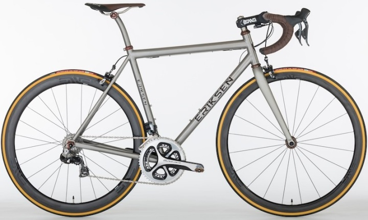 2014 Eriksen road bike dura ace di2 ti