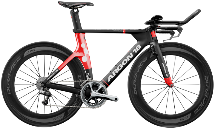 2015 Argon 18 E116 tt black red dura ace