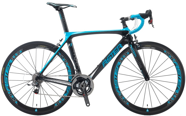 2015 Aster F1 light blue sram red