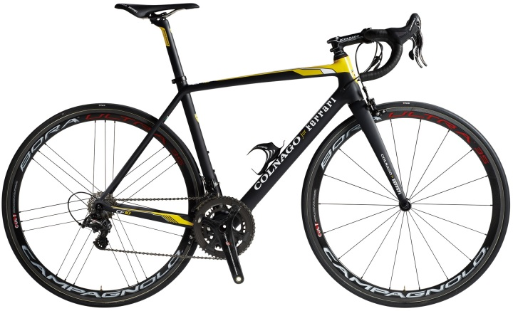 2015 Colnago CF10 yellow black campy