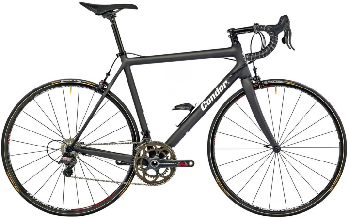 2015 Condor Leggero RS black campy 80th