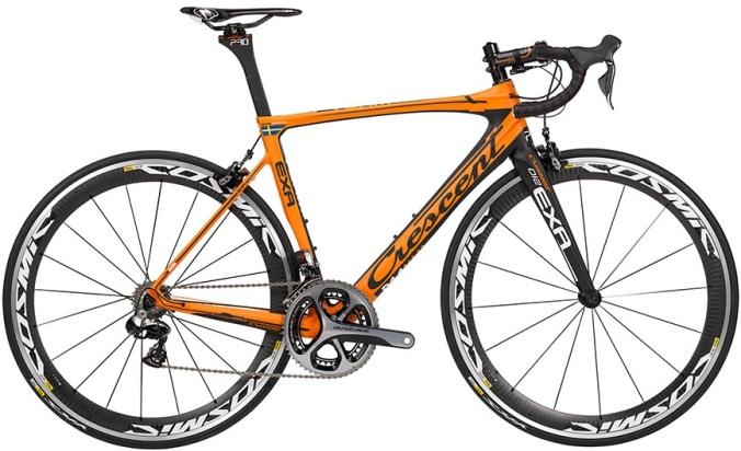 2015 Crescent Exa orange dura ace