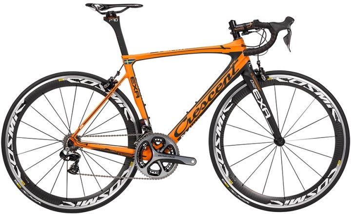 2015 Crescent Exa orange dura ace