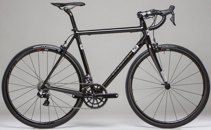 2015 Crumpton Superlight dura ace di2 black