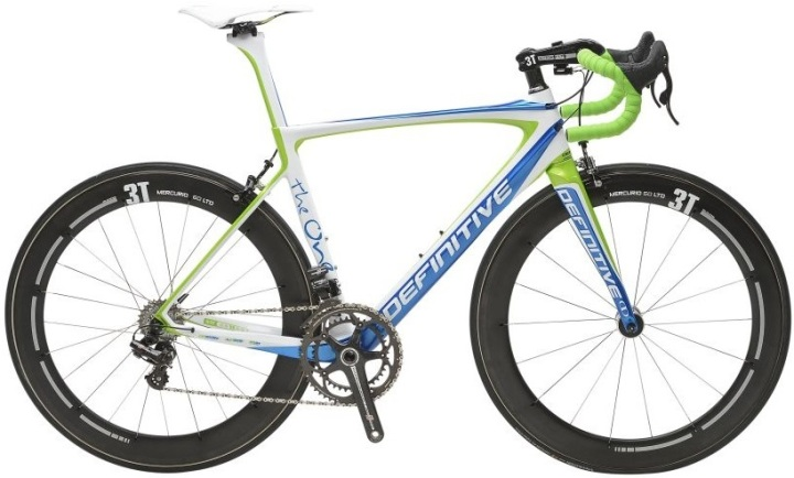 2015 Definitive the One lime light blue campy record