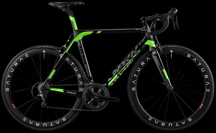 2015 Mekk Primo 6.2 green black ultegra