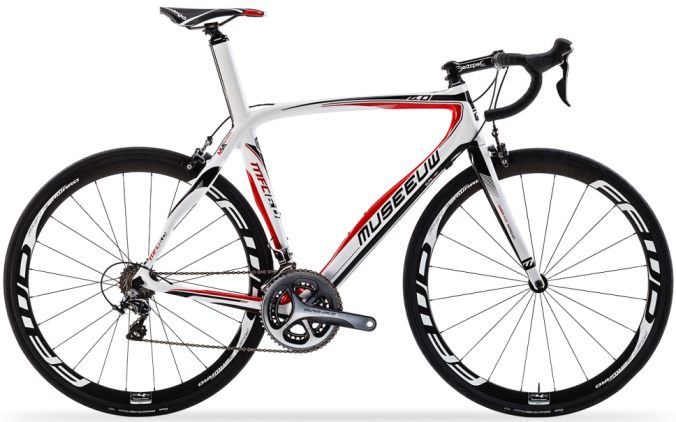 2015 Museeuw MFC 6.0 red black white dura ace