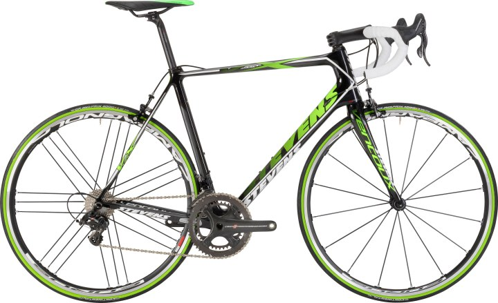 2015 Stevens Ventoux green super record campy